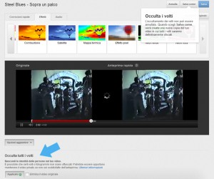 YouTube introduce l'effetto sfocatura