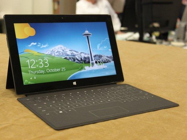 Microsoft Surface arriva in Europa