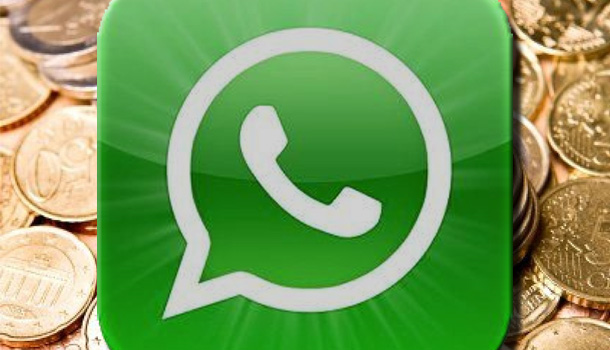 Whatsapp a pagamento anche per iphone