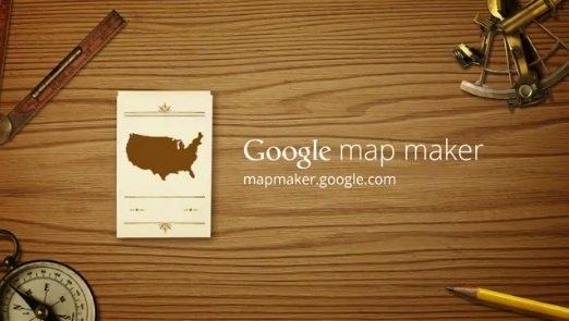 Google Map Maker – La mappa Social