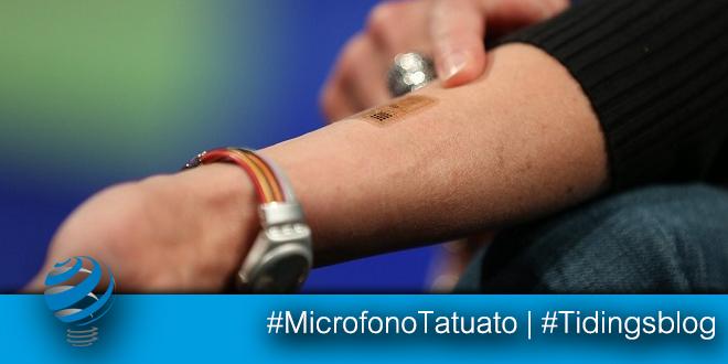 Motorola – Un tatuaggio per rispondere al telefono