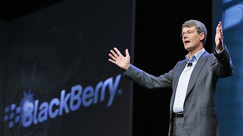BlackBerry – La lettera di incoraggiamento