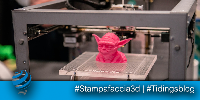 Stampa il tuo viso in 3D