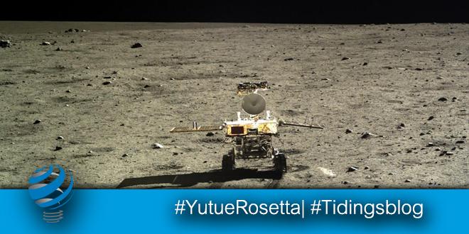 Yutu e Rosetta il risveglio