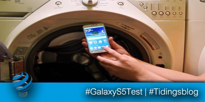Samsung Galaxy S5 in Lavatrice