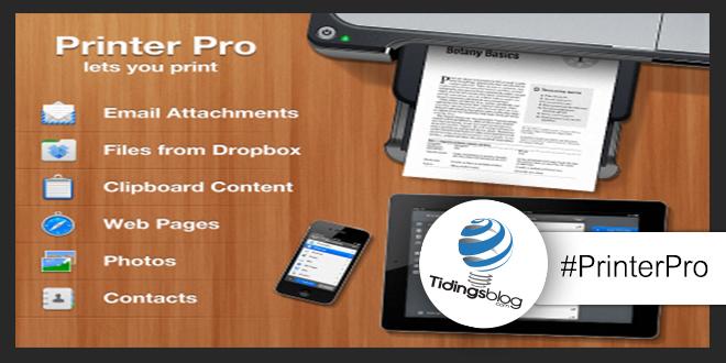 Printer Pro: Stampare con iPad e iPhone