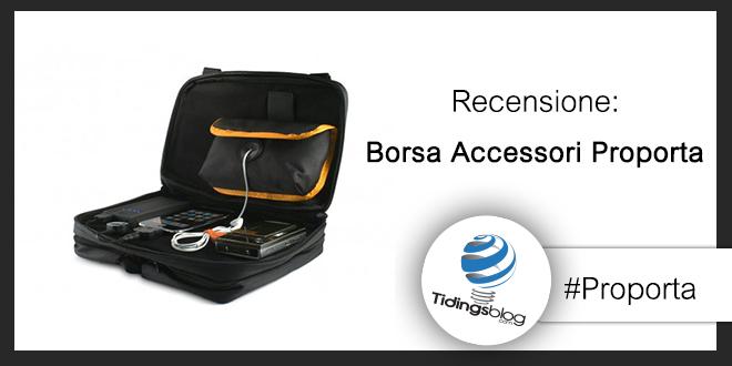 Borsa accessori – Proporta: Recensione