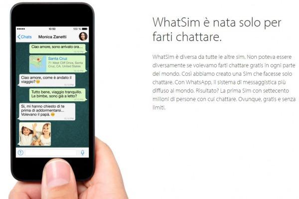 WhatSim: la nuova sim card di WhatsApp [AGGIORNATO]