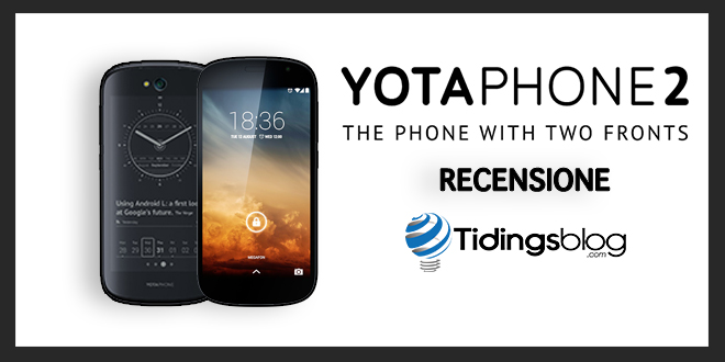 YotaPhone 2: Recensione