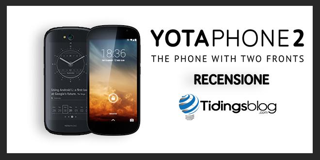 YotaPhone 2: Recensione