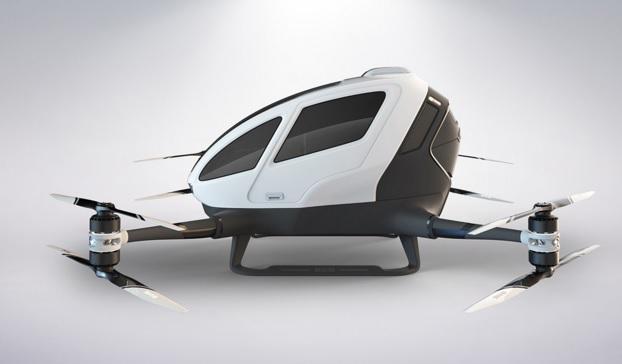 Arriva il primo drone per il trasporto umano