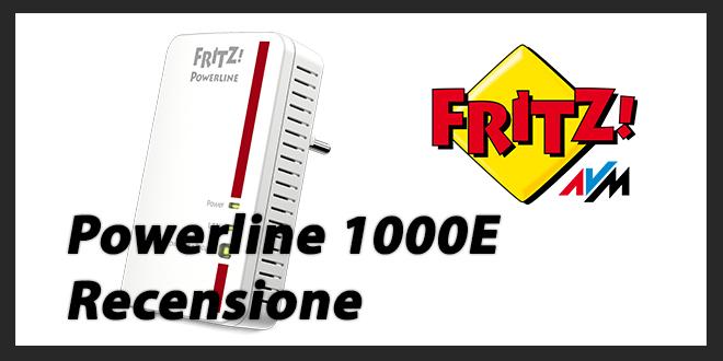 Powerline 1000e Fritz!: Recensione