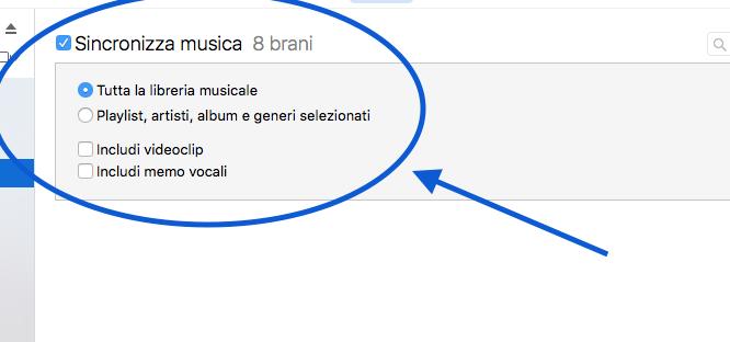 Come portare le canzoni su iPhone5