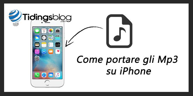 Come portare le canzoni su iPhone