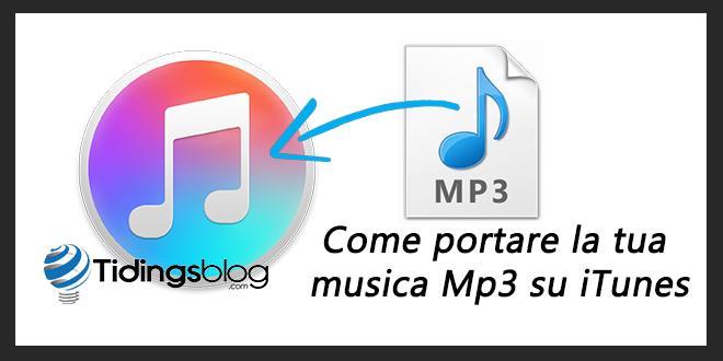 Come inserire musica su iTunes da iMac
