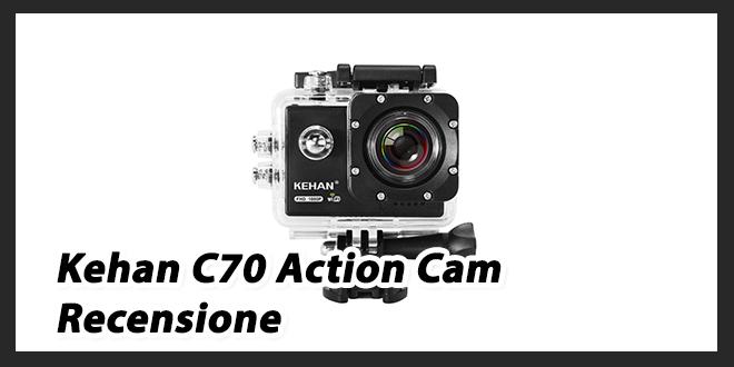 C70 Kehan Action Cam: Recensione