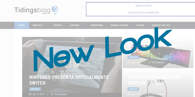 New Look – Tidingsblog cambia vestito