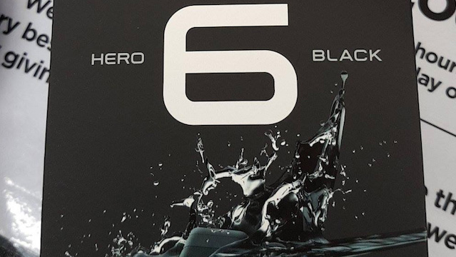 Arriva la nuova GoPro Hero 6 Black