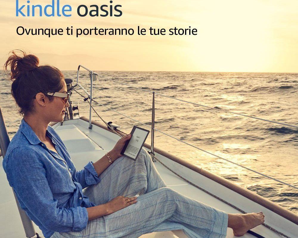 Kindle Oasis è tra noi!