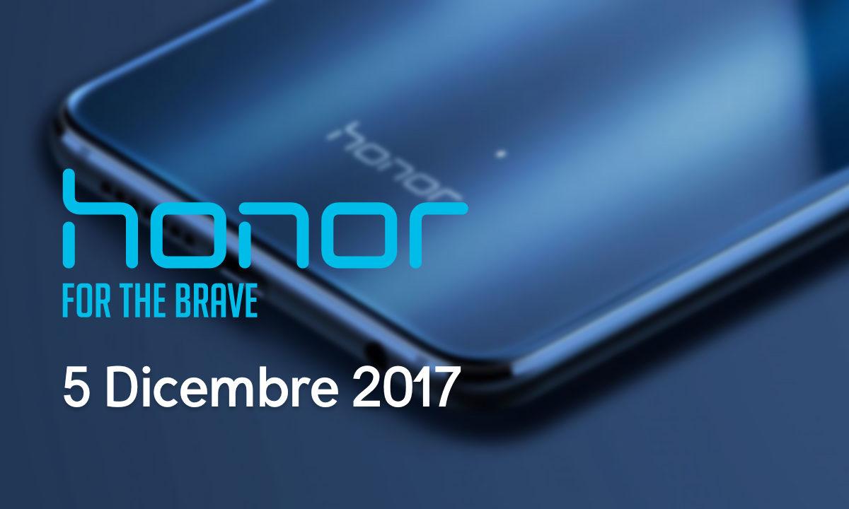 5 Dicembre Nuovo Evento Honor