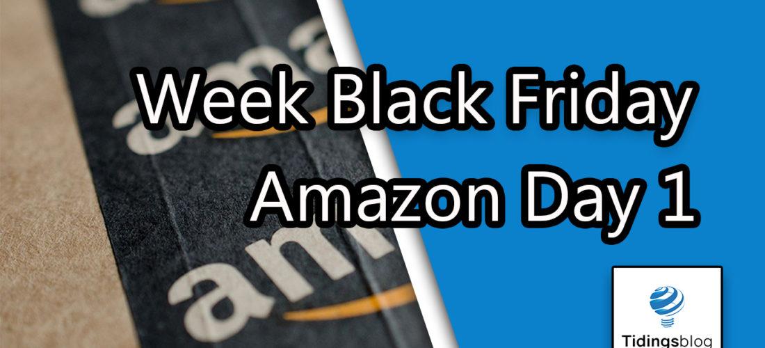 Week Black Friday Amazon – 1° Giorno Start
