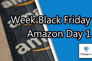 Week Black Friday Amazon – 1° Giorno Start