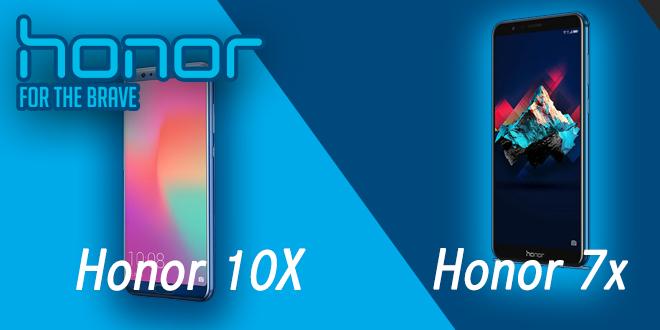 Honor presenta i nuovi smartphone 7x e 10x