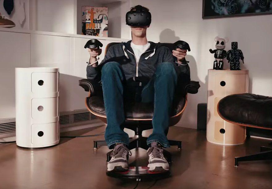 3dRudder Blackhawk – La realtà virtuale sotto i piedi