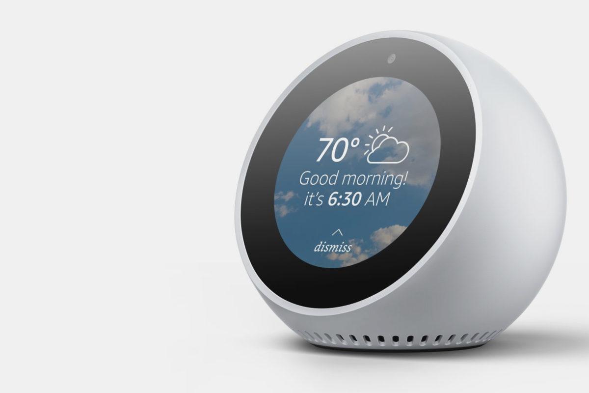 Amazon Echo Spot entra nel mercato Europeo
