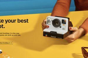 La nuova Polaroid al CES 2018 – OneStep 2