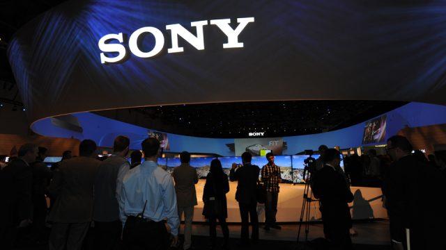 Sony durante il CES 2018