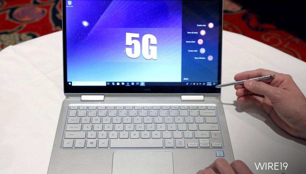 Nel 2019 i Laptop viaggeranno in 5G grazie Intel