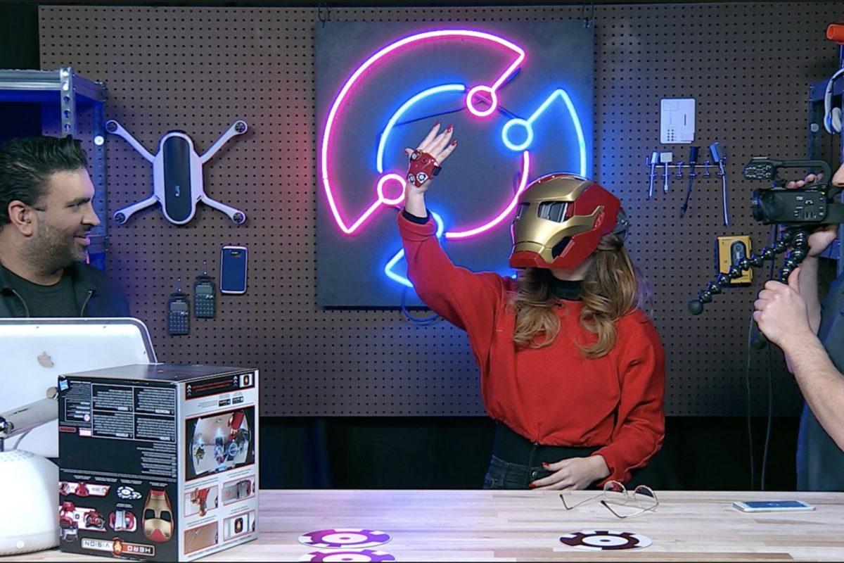 Maschera Iron Man per la Realtà Aumentata