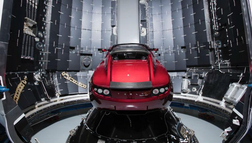 Space Tesla arriva il sito web per seguirla