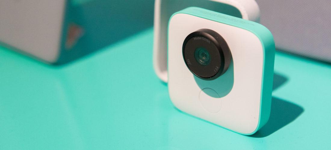 Fotocamera smart Clips di Google