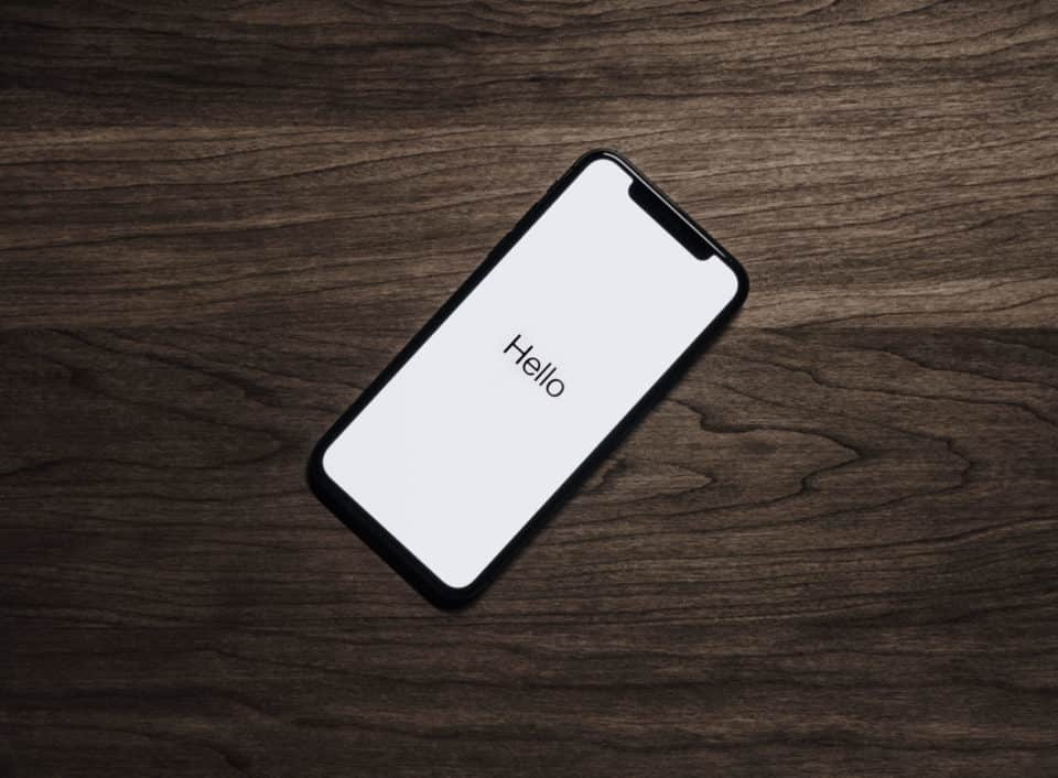 Il Bug del carattere indiano per iOS
