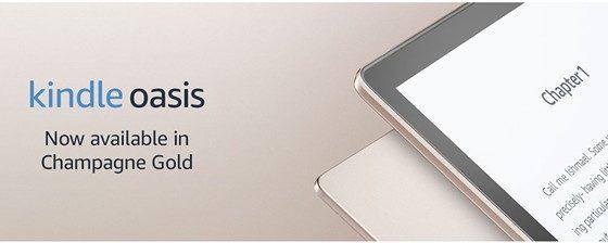 Amazon rilascia una nuova versione di Kindle Oasis