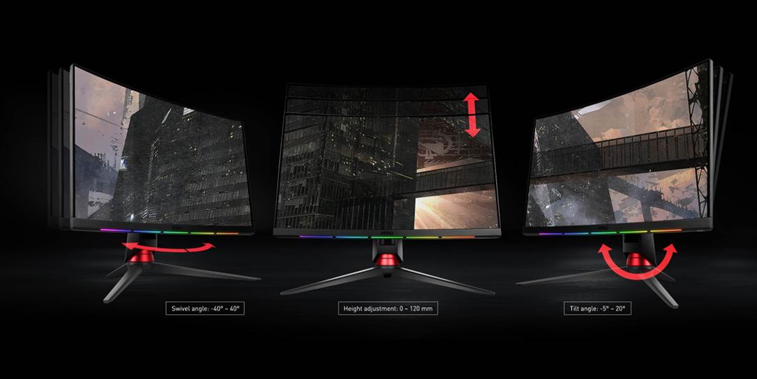 Arriva il monitor curvo di MSI e SteelSeries – Optix MPG