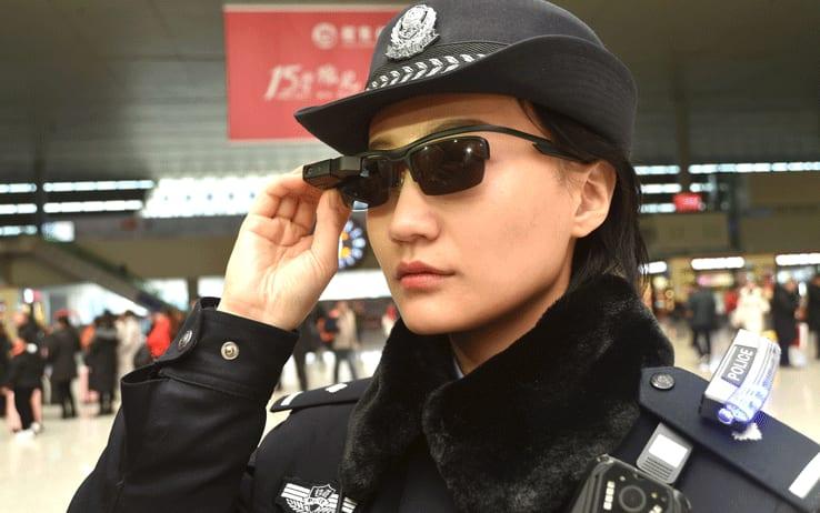La Polizia Cinese più vicina al riconoscimento facciale
