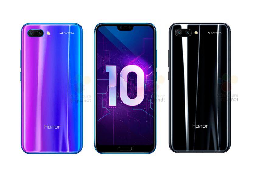 Ufficiale Honor 10 in Cina