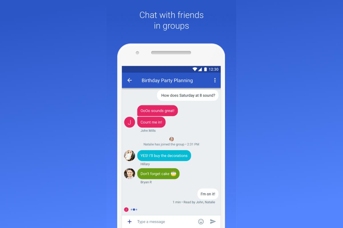 Google sperimenta un nuovo approccio per sostituire gli sms