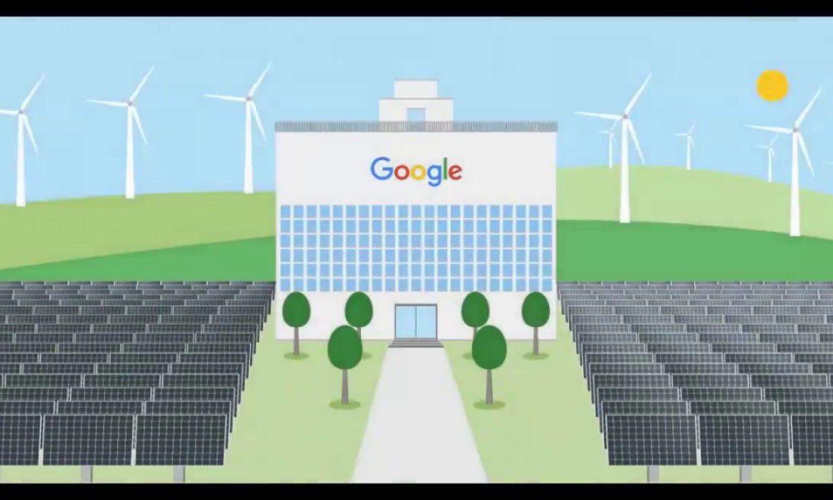 Google alimentata con energie rinnovabili al 100%