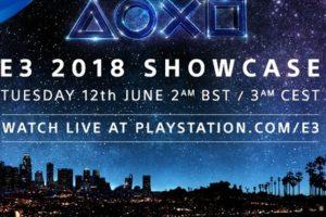 L'E3 2018 di Sony inizia il 12 giugno