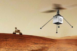 La NASA vorrebbe inviare un elicottero su Marte