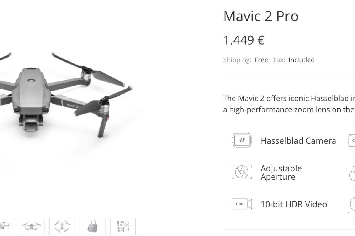Arrivano i nuovi Mavic 2 Zoom e Mavic 2 Pro della DJI