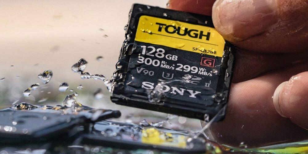 Sony Presenta la nuova SD serie SF-G TOUGH più robusta del mondo