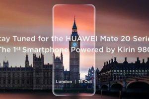 Huawei pronta a lanciare il nuovo Mate 20
