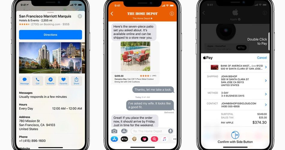 Apple Business Chat disponibile in Europa, Asia e Australia