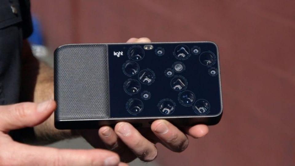Brevetto LG con smartphone da 16 fotocamere