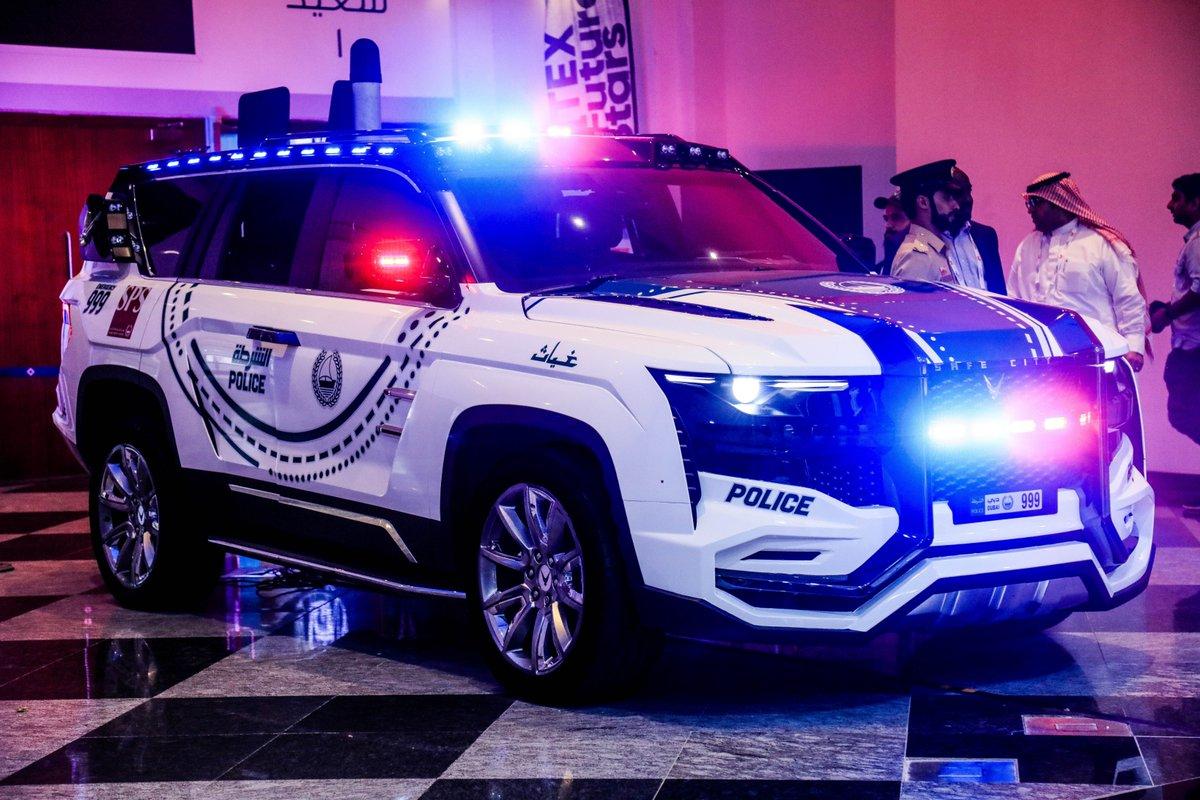 Ghiath, L'auto di Dubai con il riconoscimmento facciale